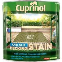 Cuprinol 5083465 Anti-Slip Decking Stain Golden Maple 2.5 litre