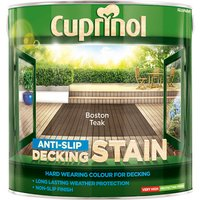 Cuprinol 5092617 Anti-Slip Decking Stain Boston Teak 2.5 litre