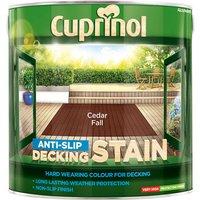 Cuprinol 5092618 Anti-Slip Decking Stain Cedar Fall 2.5 litre