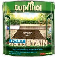 Cuprinol 5092620 Anti-Slip Decking Stain Hampshire Oak 2.5 litre