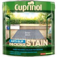 Cuprinol 5122406 Anti-Slip Decking Stain Silver Birch 2.5 litre