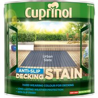 Cuprinol 5122407 Anti-Slip Decking Stain Urban Slate 2.5 litre