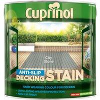 Cuprinol 5122408 Anti-Slip Decking Stain City Stone 2.5 litre