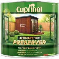 Cuprinol 5206051 Ultimate Garden Wood Preserver Autumn Brown 1 litre