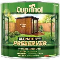 Cuprinol 5206069 Ultimate Garden Wood Preserver Golden Cedar 1 litre