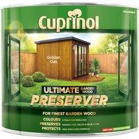 Cuprinol 5206080 Ultimate Garden Wood Preserver Golden Oak 1 litre