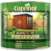 Cuprinol 5206081 Ultimate Garden Wood Preserver Red Cedar 1 litre