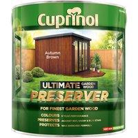 Cuprinol 5206083 Ultimate Garden Wood Preserver Autumn Brown 4 litre