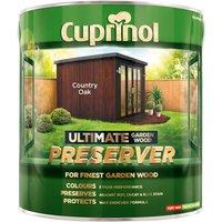 Cuprinol 5206086 Ultimate Garden Wood Preserver Country Oak 4 litre