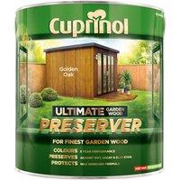 Cuprinol 5206089 Ultimate Garden Wood Preserver Golden Oak 4 litre