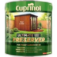 Cuprinol 5206120 Ultimate Garden Wood Preserver Red Cedar 4 litre