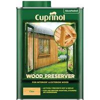 Cuprinol 5330417 Wood Preserver Clear 1 litre