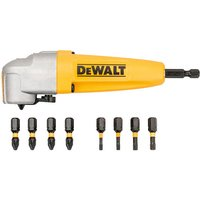 DeWalt DT70619T Impact Rated Right Angle Drill Attachment andamp; 8 Bits