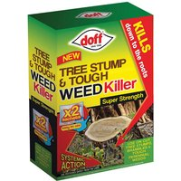 DOFF F-FG-002-DOF Tree Stump andamp; Tough Weedkiller 2 Sachet