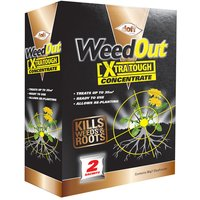 DOFF F-FC-002-DOF WeedOut Xtra Tough Weedkiller Concentrate 2 x Sa...