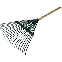 Faithfull FAICOULRF Countryman Leaf Rake 22 Flat Tines