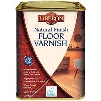 Liberon 101769 Natural Finish Floor Varnish Clear Matt 1 litre