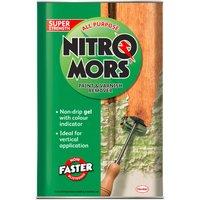 Nitromors 1985780 All Purpose Paint andamp; Varnish Remover 4 litre