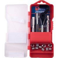 Recoil 33078 UNC Thread Repair Kit 7/16 - 14 TPI 10 Inserts