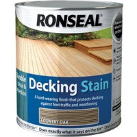 Ronseal 36703 Decking Stain Rich Mahogany 5 litre