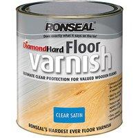 Ronseal 32583 Diamond Hard Floor Varnish Satin 2.5 litre