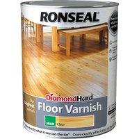 Ronseal 37540 Diamond Hard Floor Varnish Matt 5 litre