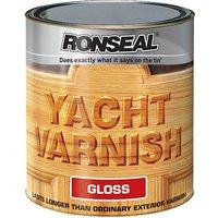 Ronseal 07166 Exterior Yacht Varnish Gloss 1 litre