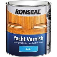 Ronseal 30244 Exterior Yacht Varnish Satin 1 litre