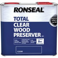 Ronseal 38584 Trade Total Wood Preserver Clear 2.5 litre