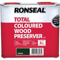 Ronseal 38586 Trade Total Wood Preserver Green 2.5 litre
