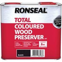 Ronseal 38588 Trade Total Wood Preserver Black 2.5 litre
