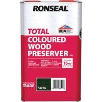 Ronseal 38591 Trade Total Wood Preserver Green 5 litre