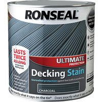 Ronseal 36912 Ultimate Protection Decking Stain Charcoal 2.5 litre