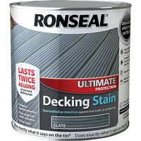 Ronseal 36913 Ultimate Protection Decking Stain Slate 2.5 litre