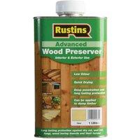 Rustins AWCL1000 Advanced Wood Preserver Clear 1 litre