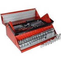 Teng TC187 Mega Rosso Tool Kit Set of 187 1/4 3/8 andamp; 1/2in