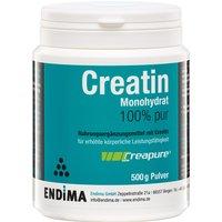 Endima Creapure Creatin Monohydrat 100% Pulver Geschmacksneutral              Produktbild
