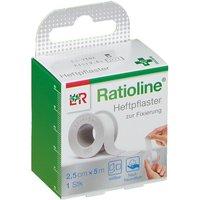 Ratioline® acute Heftpflaster 2,5 cm x 5 m