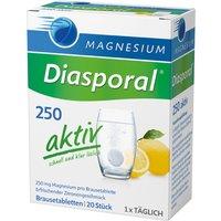 Magnesium Diasporal Magnesium-Diasporal 250 aktiv Brausetabletten              Produktbild