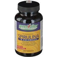 greenValley Earthrise Spirulina Chlorella Tabletten              Produktbild