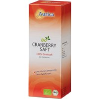 Aurica Bio Saft Cranberry              Produktbild