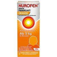 Nurofen® Junior Fieber- und Schmerzsaft Orange 2%