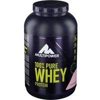 Multipower 100 % Whey Protein Sahne Pulver Erdbeere              Produktbild