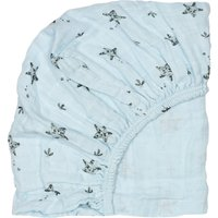 Olivia starfish fitted sheet