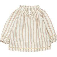 Quincy Stripe Linen Blouse