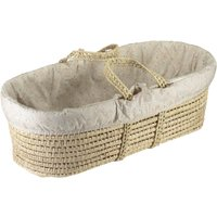Minako Moses Basket - Set of Floral Coton Pieces