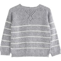 Cashmere Wool Striped Jumper