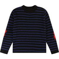 Wool Cashmere Elbow Patch Jumper