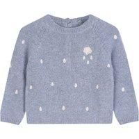 Raindrop Hand Knitted Merino Wool Jumper