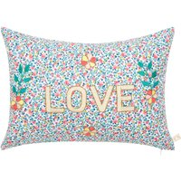 Love Embroidered Cushion - CSAO x Smallable